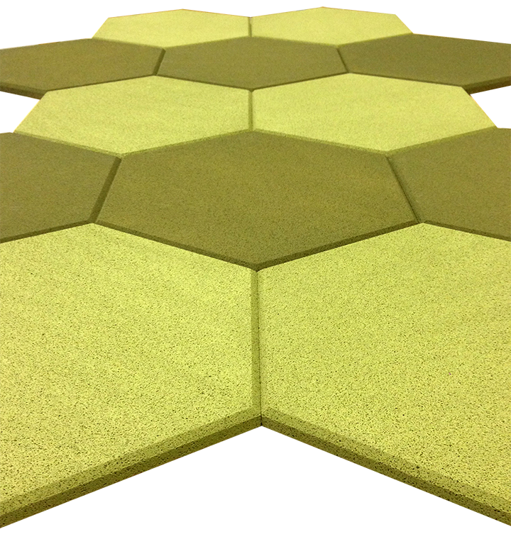 Acoustic Tiles Hexagon Shapes Awesome Design