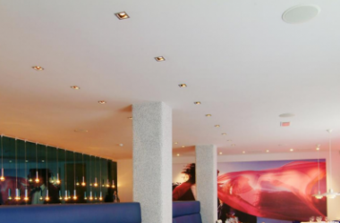 Seamless Acoustic Ceiling