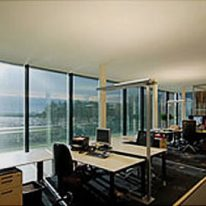 Office seamless acoustic ceiling