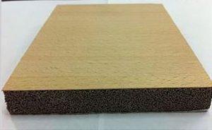 wooden veneer board