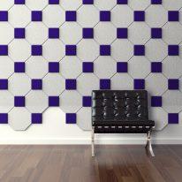 Acoustic tiles OCTAGON shape