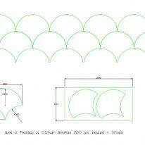acoustic tiles dimensions