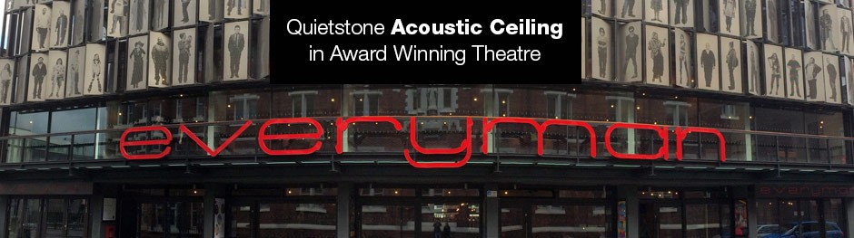 Acoustic Ceiling in Everyman Theatre