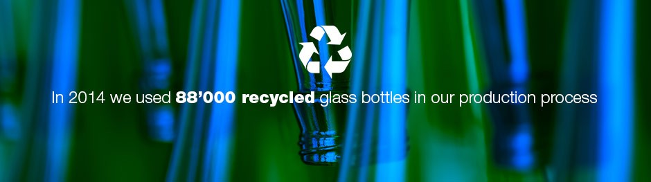 Acoustic material from recycled glass