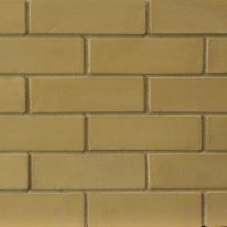 Brick slip Panel : Mustard bricks