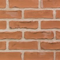Brick slip Panel : Rustic Red