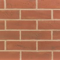 Brick slip Panel : Vibrant Orange