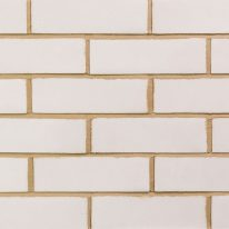Brick slip Panel : White bricks