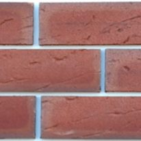 Brick slip Tile - modern red