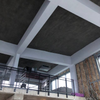 Spray Acoustic Treatment - Office Ceiling